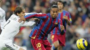 Ronaldinho Barcelona Real Madrid 2005