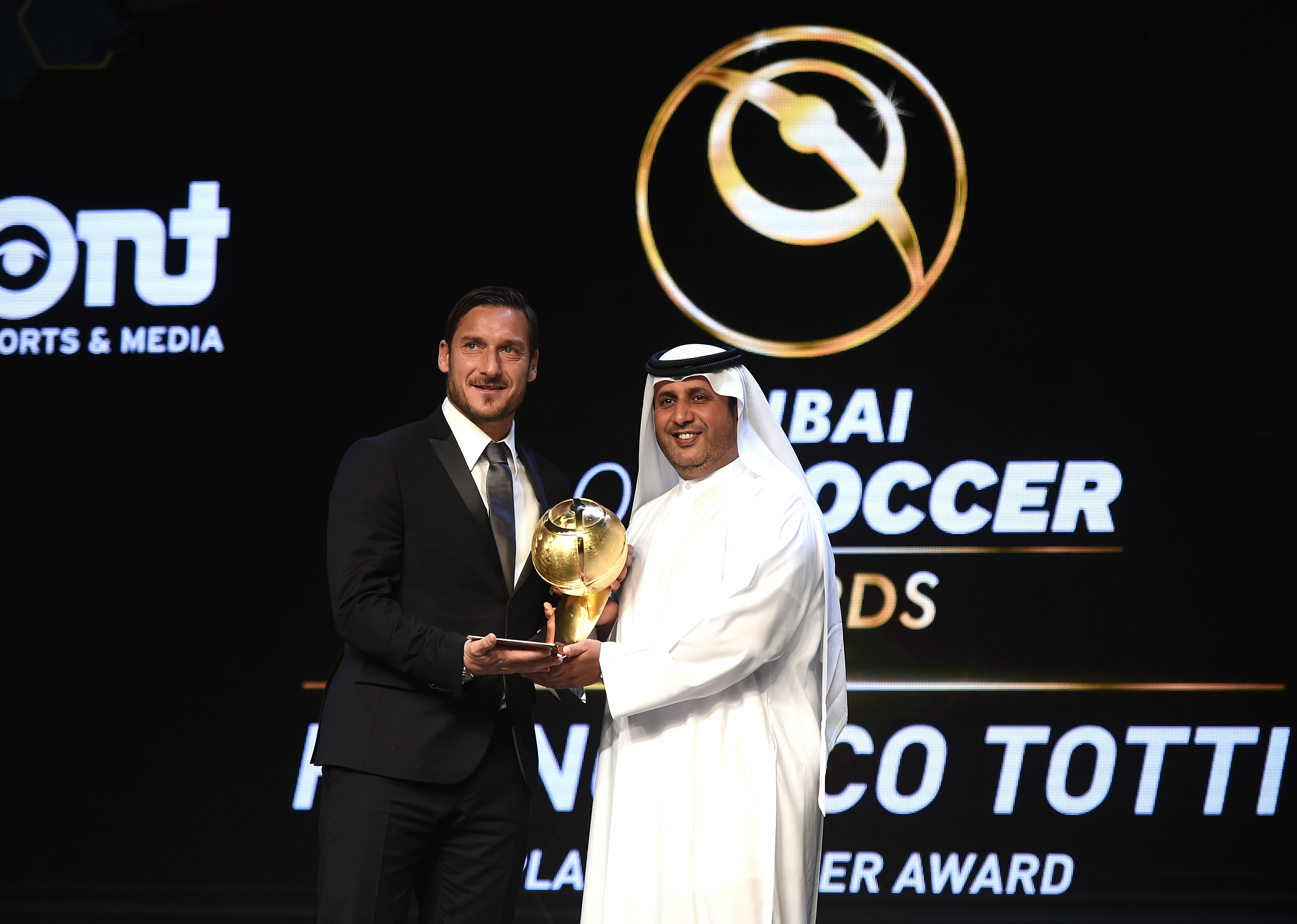 Totti Globe Awards