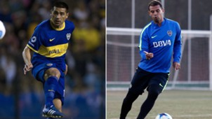 Juan Roman Riquelme Edwin Cardona Boca 2017