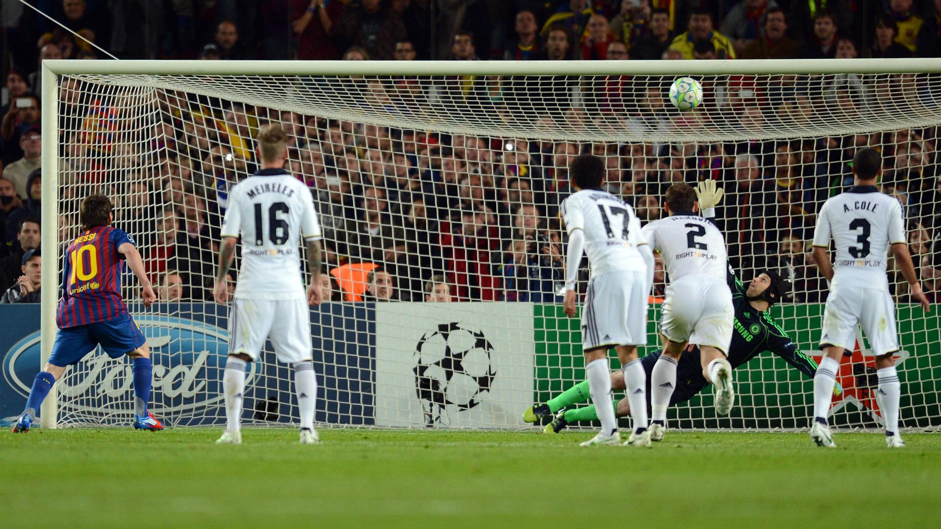 2012 Cech Lionel Messi Chelsea Barcelona