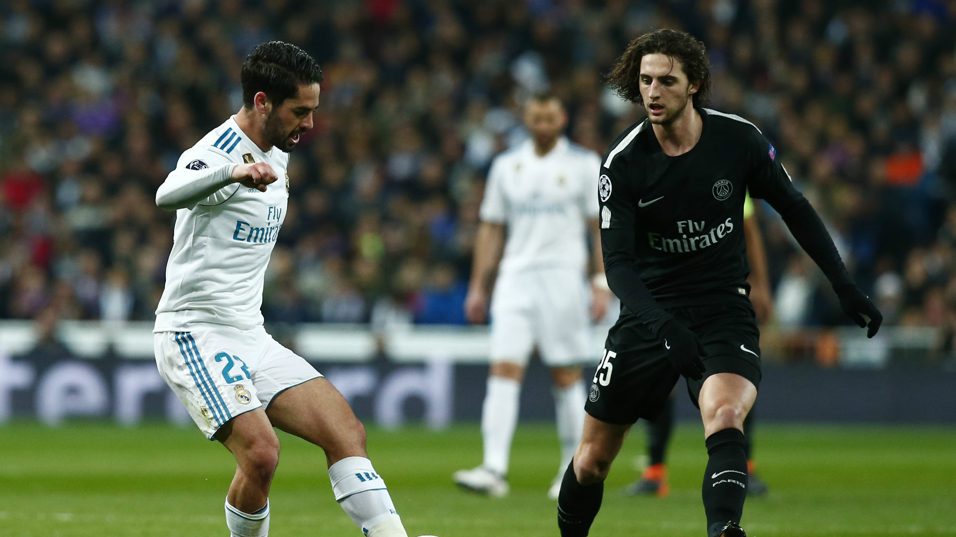 Isco Rabiot Real Madrid PSG Champions League