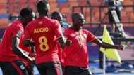 Uganda celebrate win against DR Congo.j