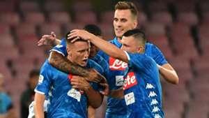 Piotr Zielinski Napoli Milan Serie A 2018