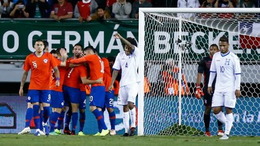 Chile v Honuras Friendly 20112018