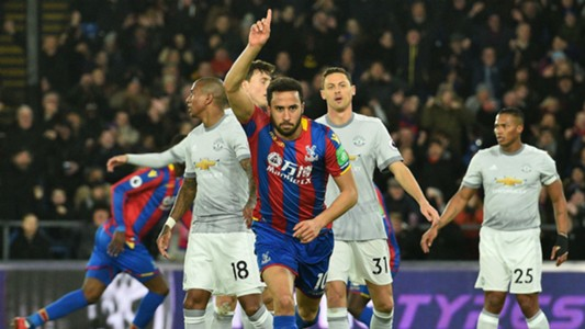 Andros Townsend Crystal Palace Manchester United