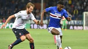 Duvan Zapata Sampdoria Bologna Serie A