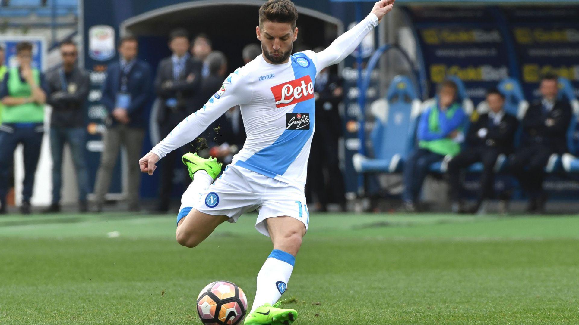 Dries Mertens Empoli Napoli Serie A