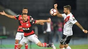 Rene Lucas Pratto Flamengo River Plate 28022018 Copa Libertadores