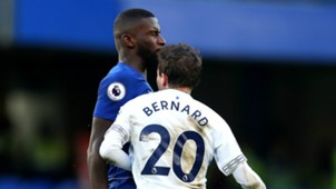 Antonio Rudiger Bernard Chelsea vs Everton Premier League 2018-19