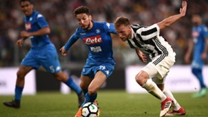 Benedikt Howedes Dries Mertens Juventus Napoli Serie A