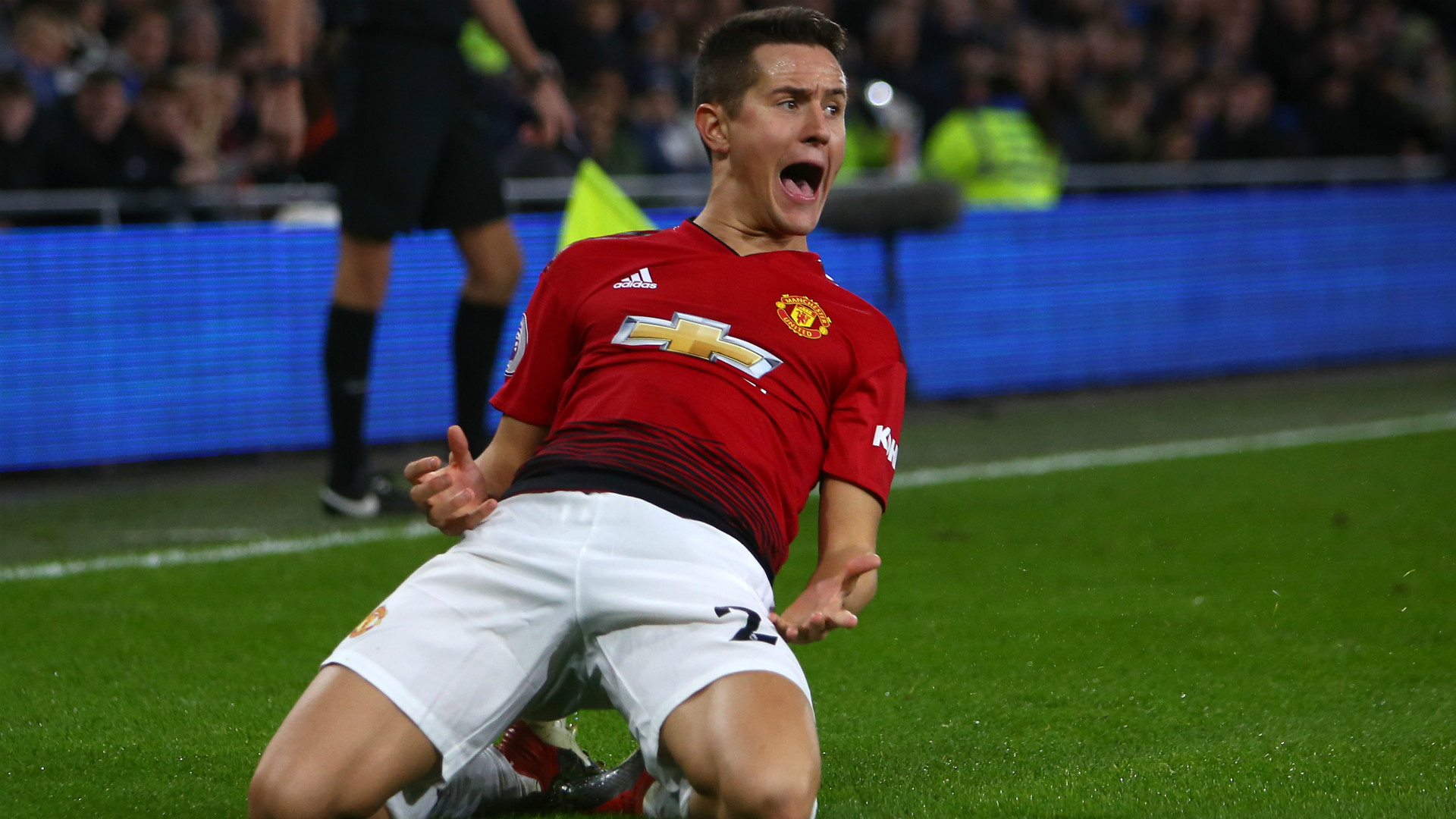 ANDER HERRERA MANCHESTER UNITED PREMIER LEAGUE 22122018