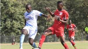 Hassan Abdallah of Bandari v Stephen Waruru of Sofapaka.