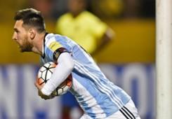 gol Messi Ecuador Argentina Eliminatorias 10102017