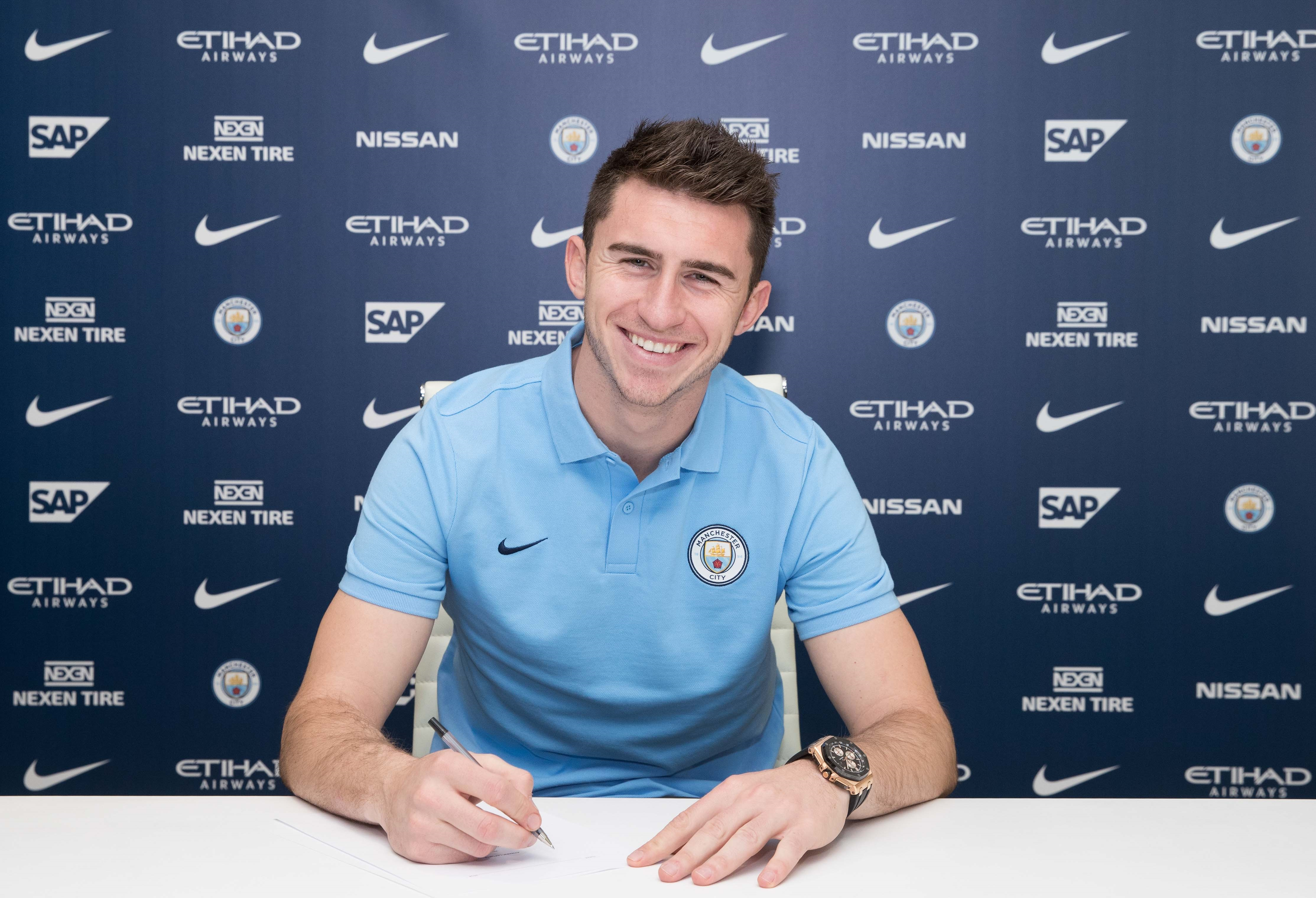 Image result for aymeric laporte city