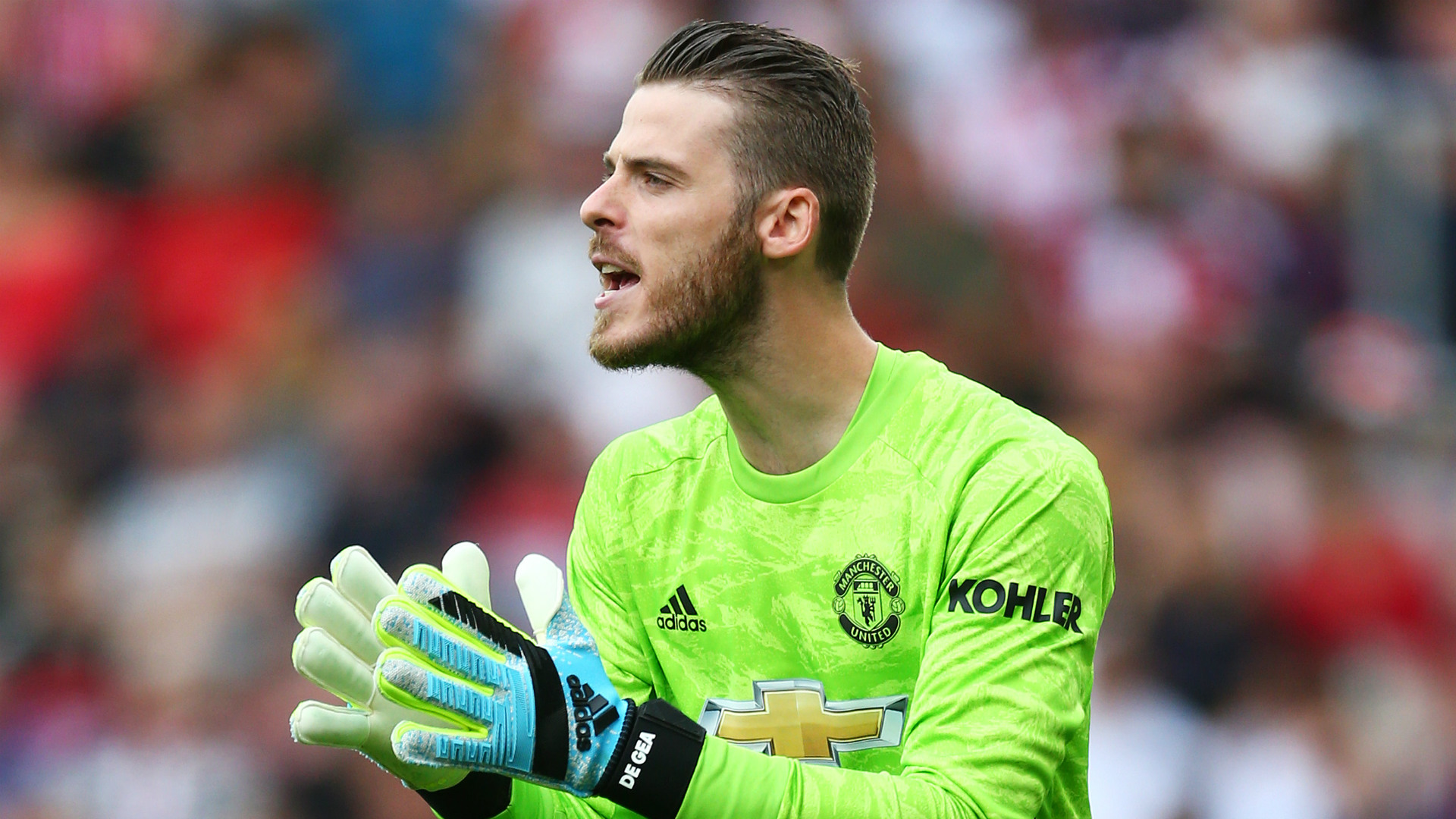 David De Gea close to signing new Man United deal class=