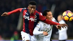 Ibrahima Mbaye Carlos Bacca Bologna Milan Serie A