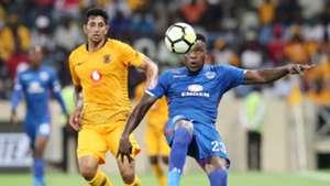 Leonardo Castro, Kaizer Chiefs & Morgan Gould, SuperSport United, December 2018