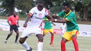 Kaweesa Hood of Uganda v Ethiopia in Cecafa.j