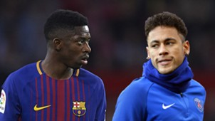 Ousmane Dembele Neymar Barcelona PSG 2017-18
