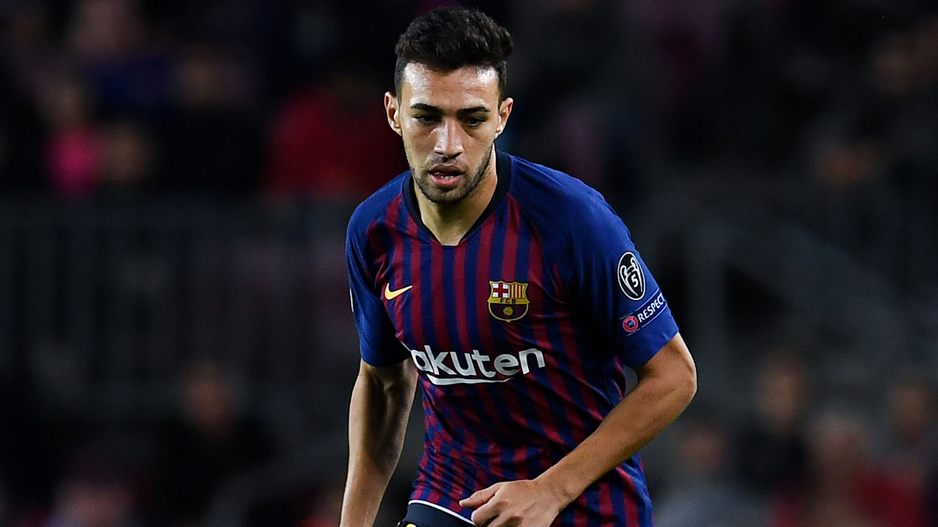 Munir El Haddadi Barca 2018
