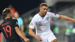Jordan Henderson England Croatia