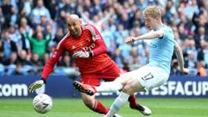 Kevin De Bruyne, Gomes, Man City vs Watford