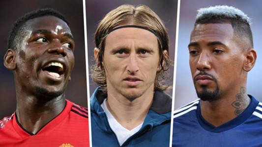 Paul Pogba Luka Modric Jerome Boateng GFX