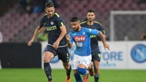 Insigne Gagliardini - Napoli-Inter