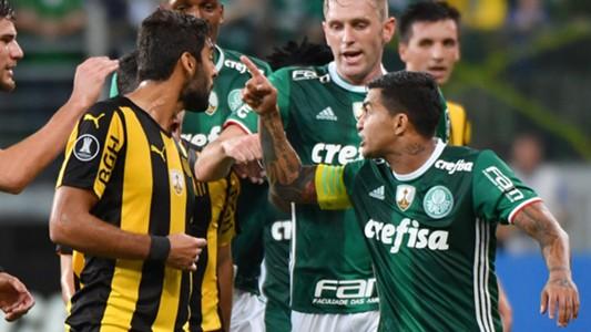 Dudu Palmeiras Penarol Libertadores 12042017