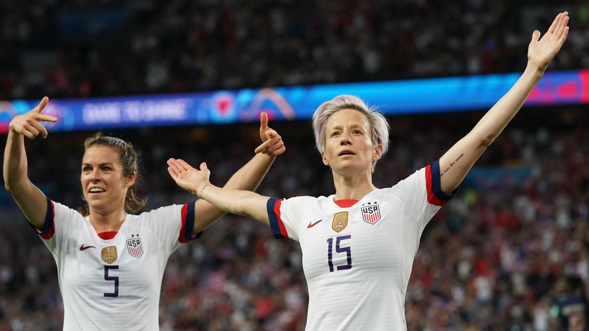 US World Cup star Megan Rapinoe accepts House invite after snubbing Trump