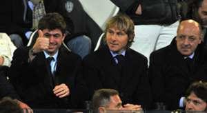 Andrea Agnelli, Pavel Nedved & Giuseppe Marotta