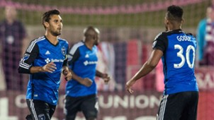 Chris Wondolowski Anibal Godoy San Jose Earthquakes