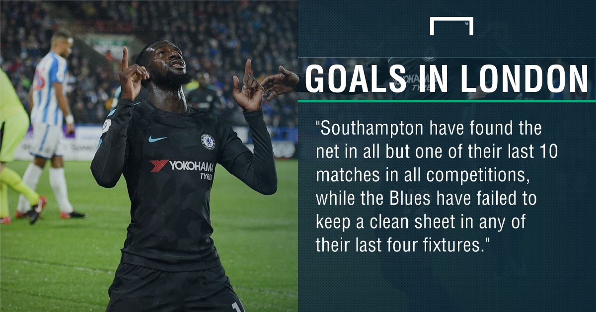 Chelsea Southampton graphic