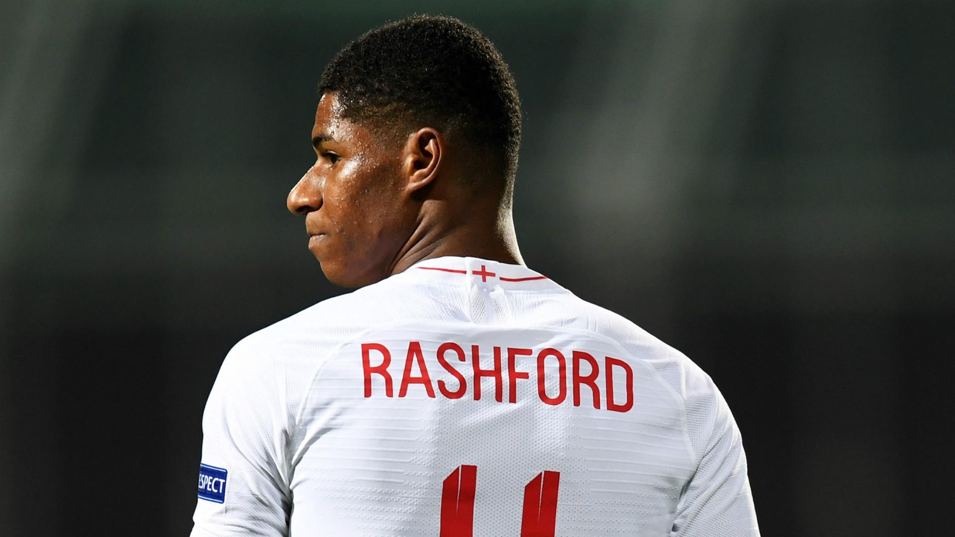 Marcus Rashford England 2018