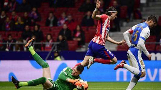 Filipe Luis Atletico Madrid Leganes LaLiga
