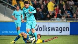 Lionel Messi Vicente Gomez Las Palmas Barcelona LaLiga 01032018