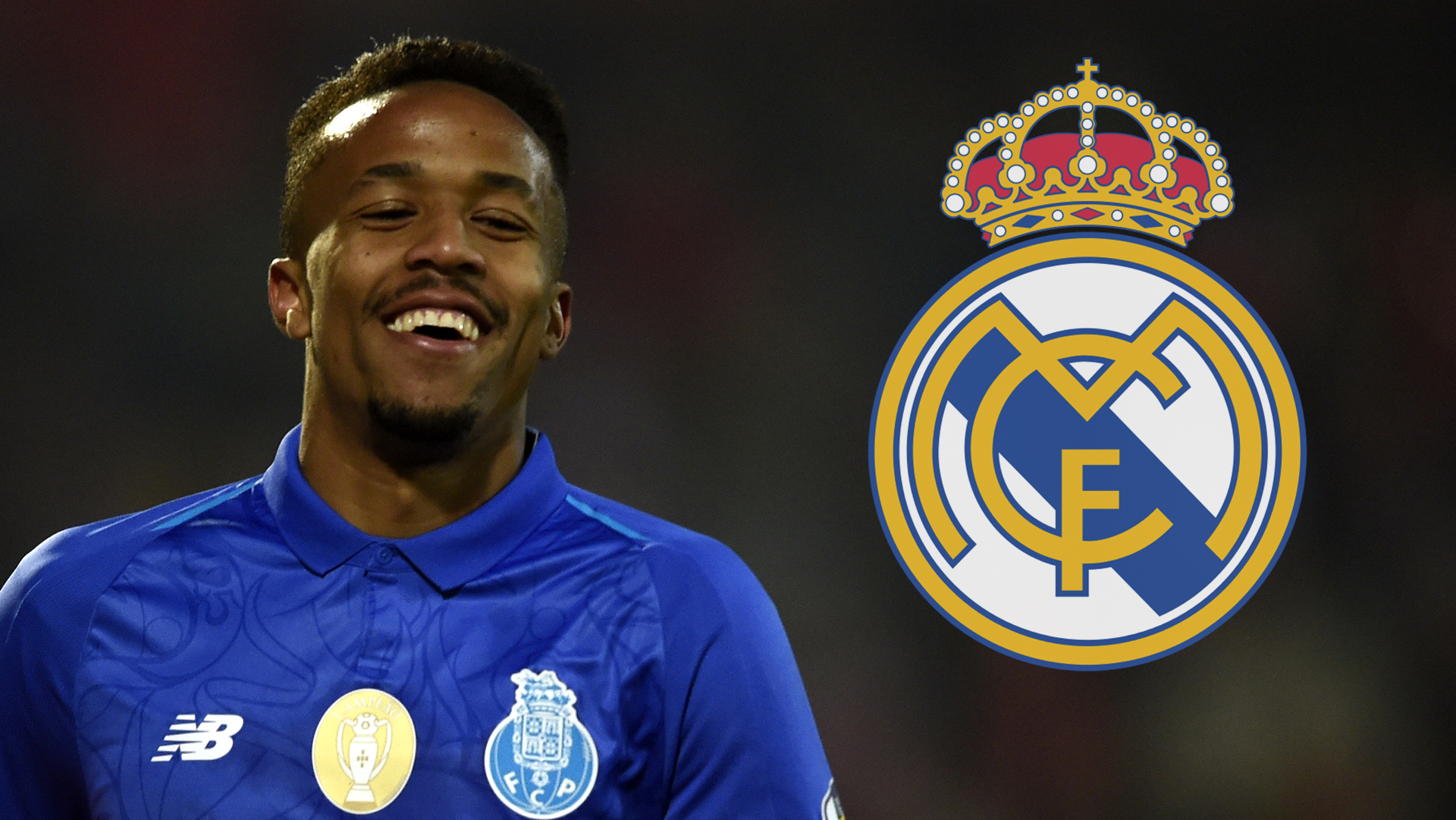 Real Madrid sign €50m Eder Militao from Porto on six-year contract