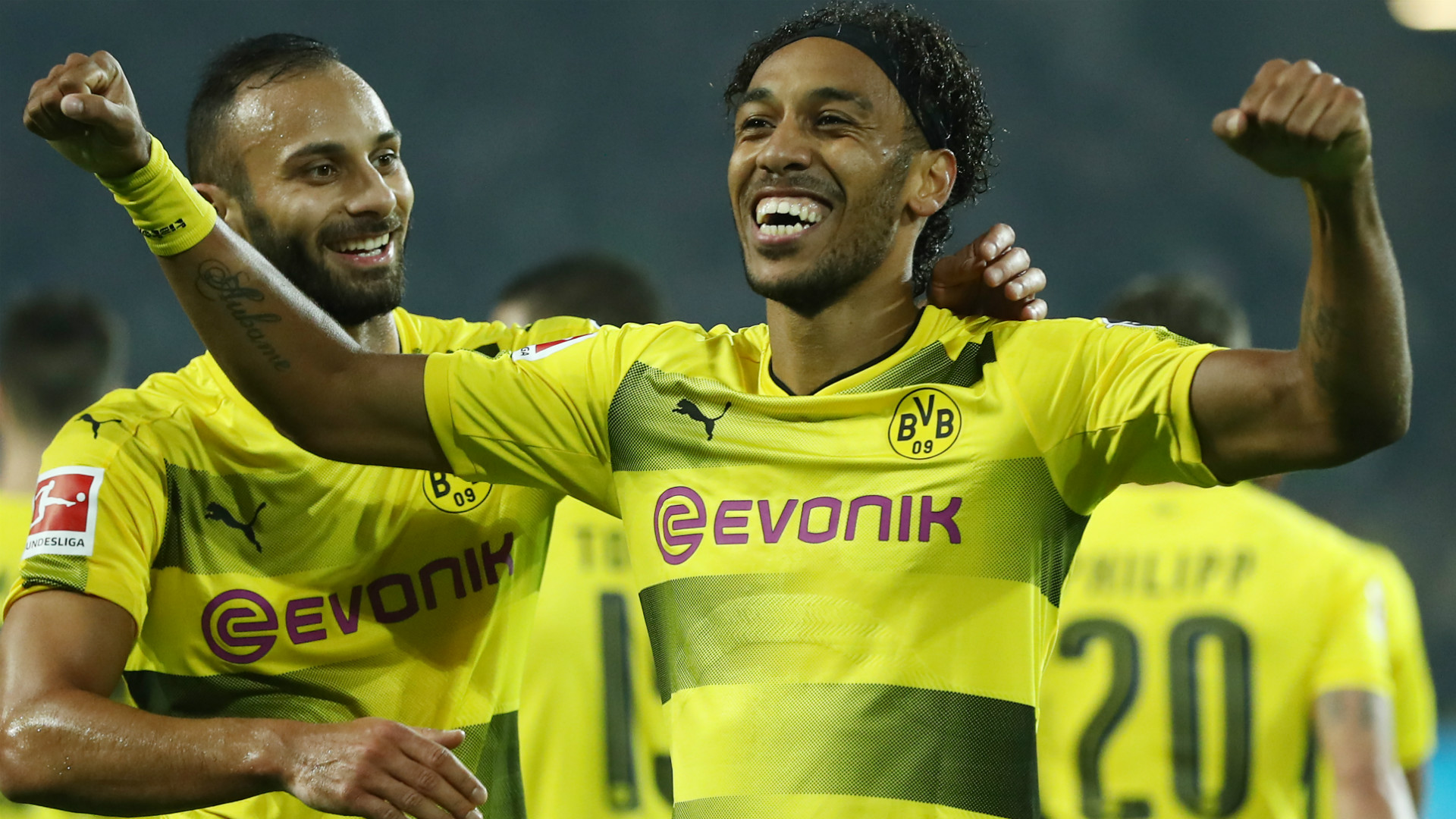 Pierre-Emerick Aubameyang Borussia Dortmund 23092017
