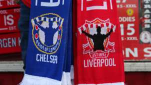 Chelsea Liverpool scarf