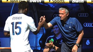 Michael Essien Jose Mourinho Real Madrid