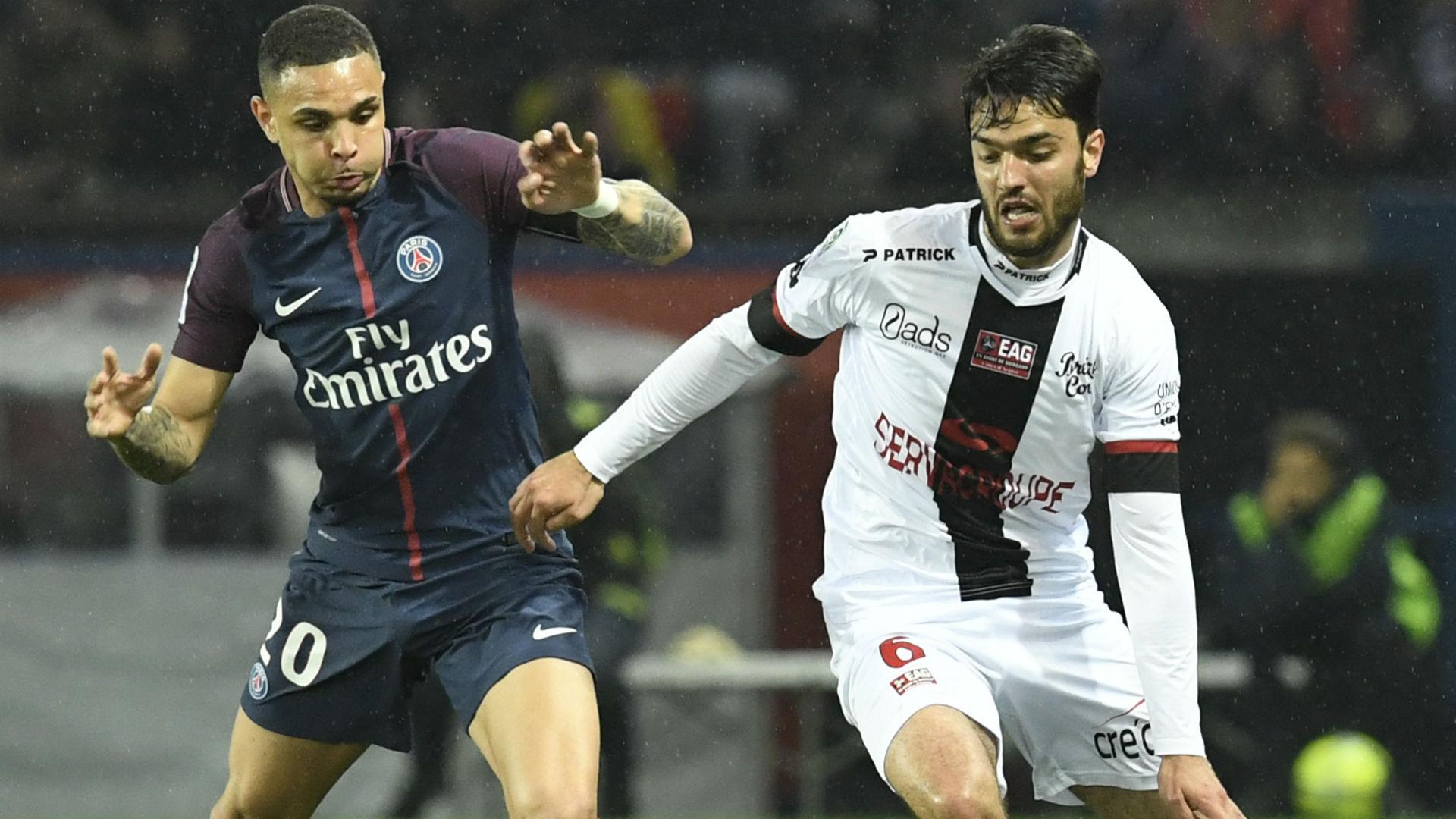 Layvin Kurzawa Clement Grenier PSG Guingamp Ligue 1 29042018