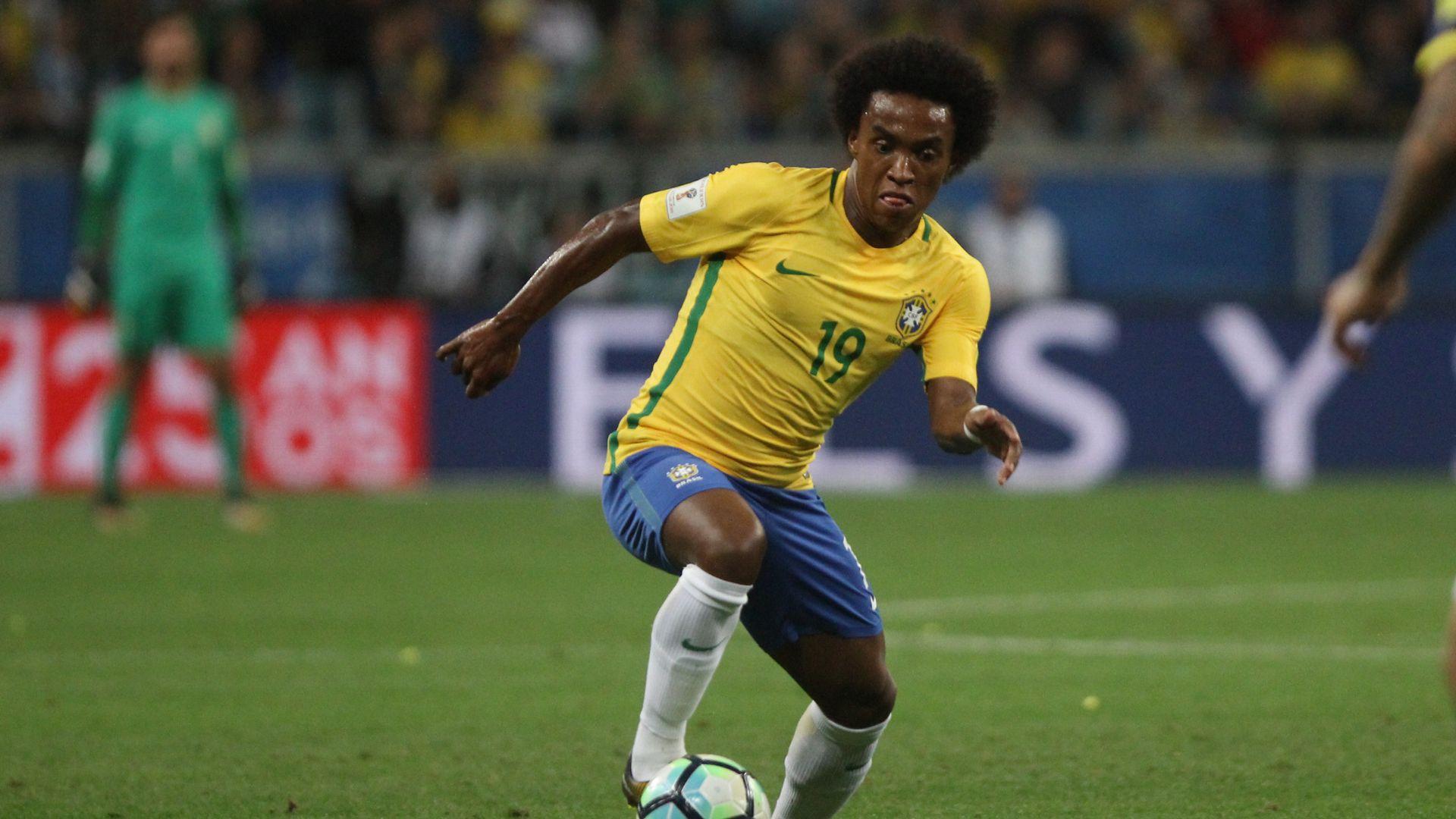 Willian Brazil Ecuador Eliminatorias 2018 31082017
