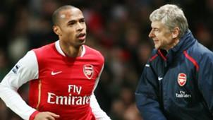 Theirry Henry Arsene Wenger Arsenal