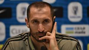 Giorgio Chiellini Juventus Milan press conference