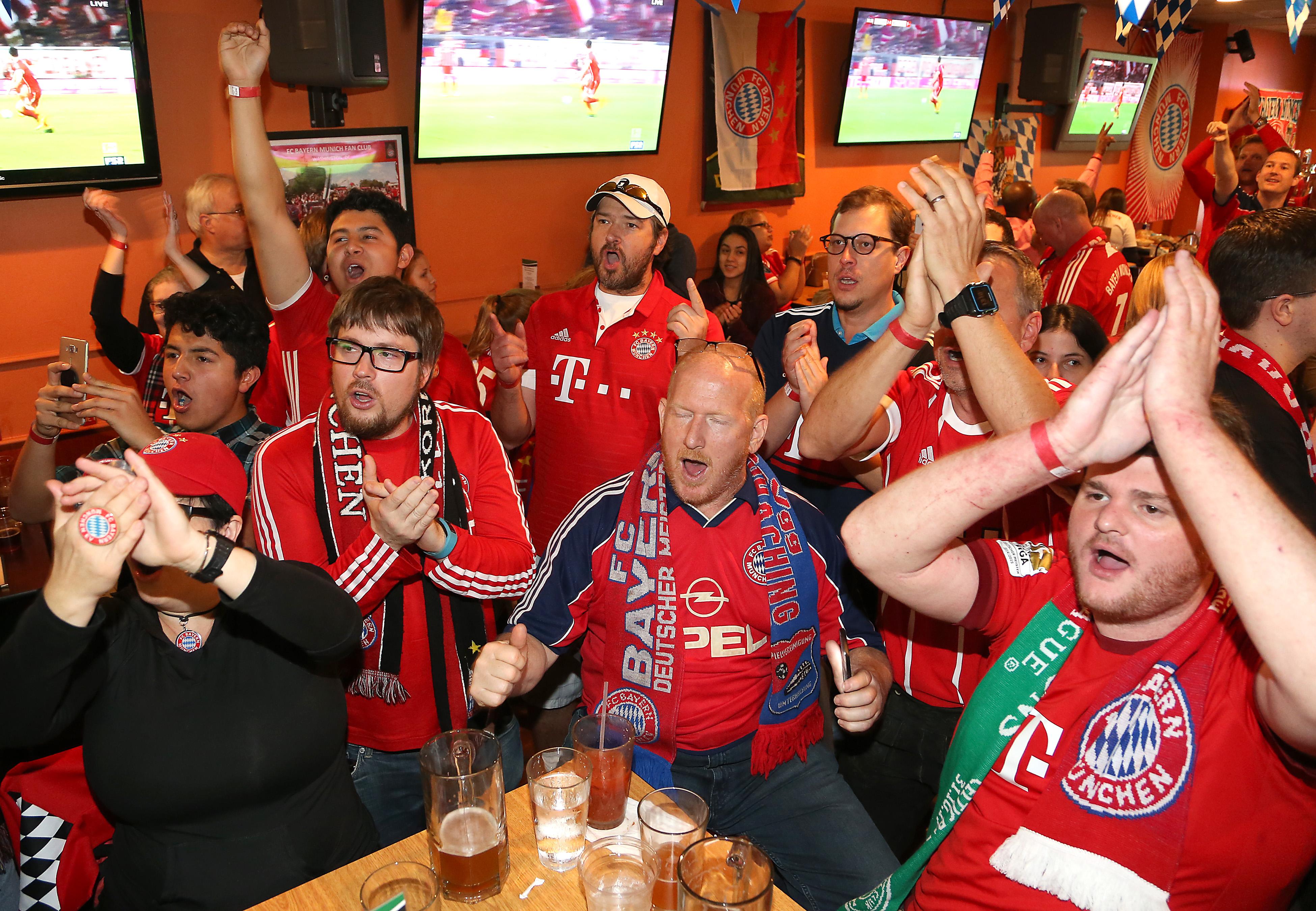 Bayern Munich supporters revel at D.C. fan club meet-up
