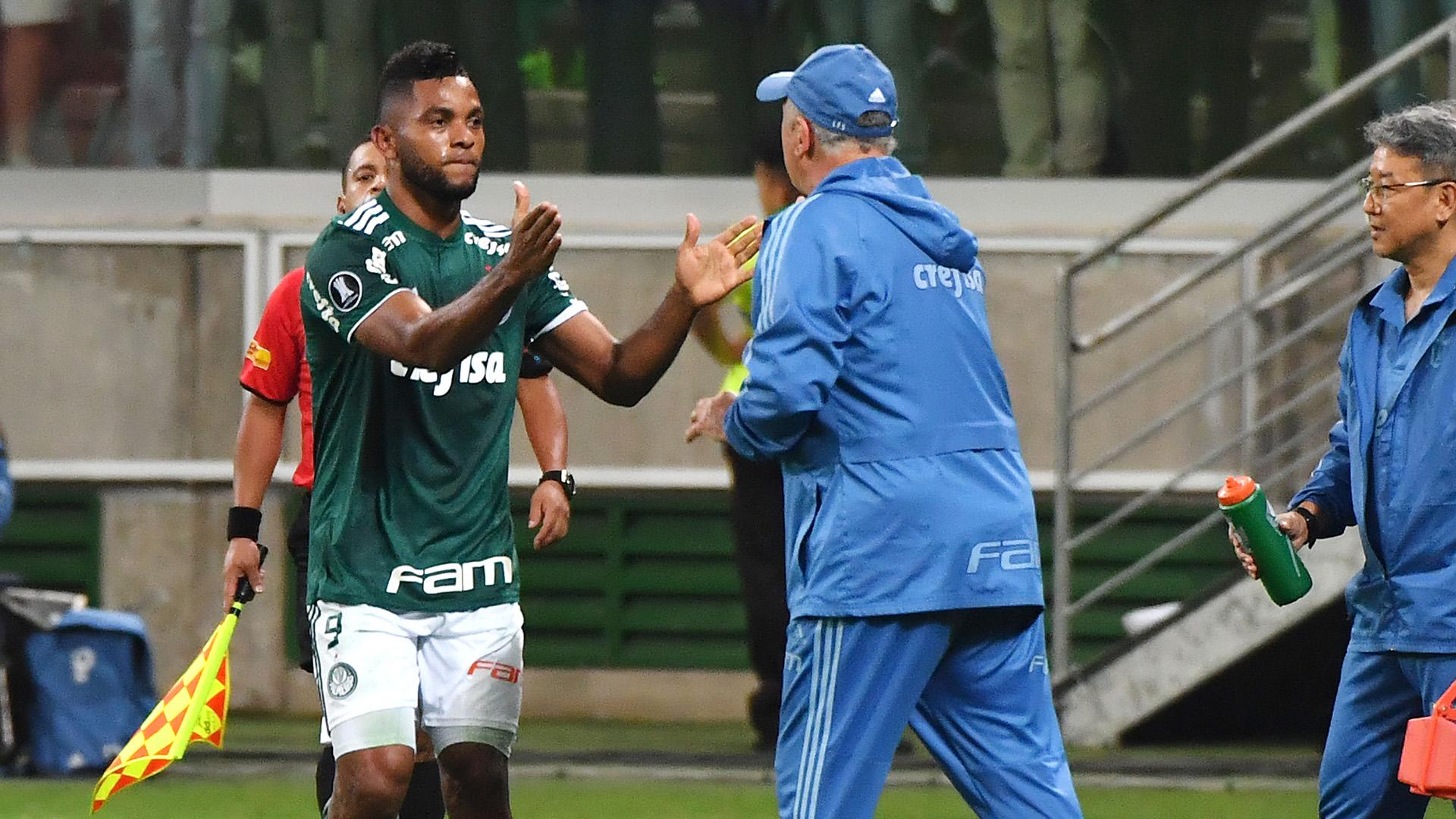 Borja Luiz Scolari Palmeiras Colo Colo Copa Libertadores 03102018
