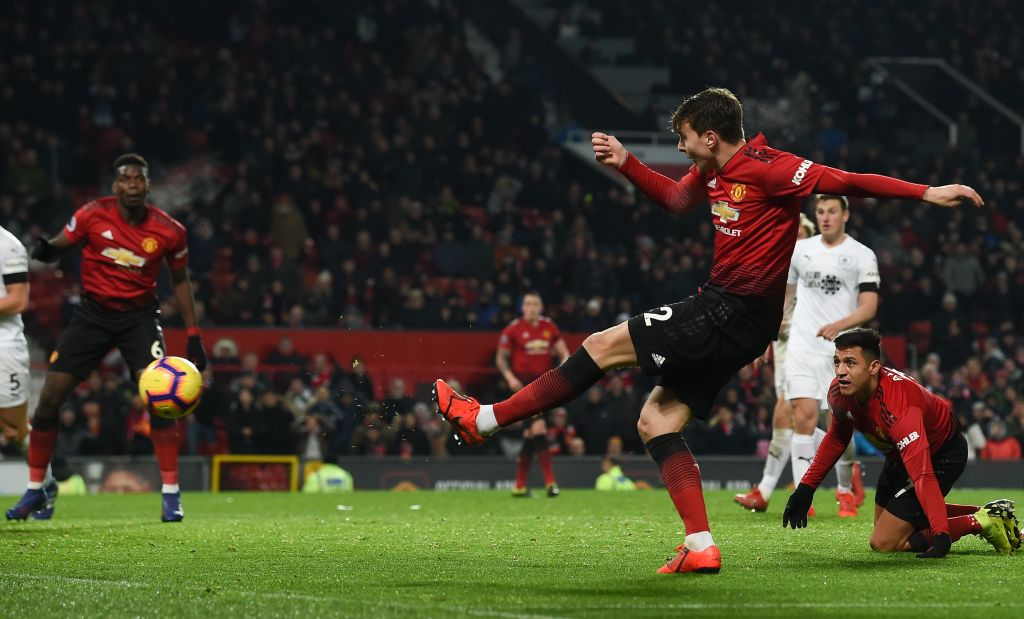 Manchester United vs Burnley Premier League 29012019
