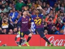 Messi Arturo Vidal Real Betis Barcelona LaLiga