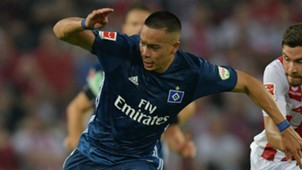 Bobby Wood Bundesliga Hamburg 082517