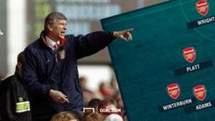 Arsene Wenger Arsenal First XI